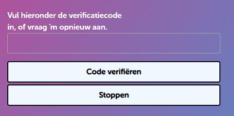 Stappenplan (nieuw) wachtwoord aanmaken online portal BrightPensioen - stap 4.2